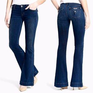 Hudson Jeans Ferris Flare Dark Denim Flap Pocket